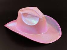 Розовая Ковбойская шляпа на вечеринку