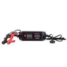 Зарядное устройство 6/12В, 0.8/3.8А, 230В, зимний режим зарядки, дисплей, максимальная емкость заряжаемого, фото 2