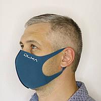 Многоразовая защитная маска ÜLKA темно-синяя