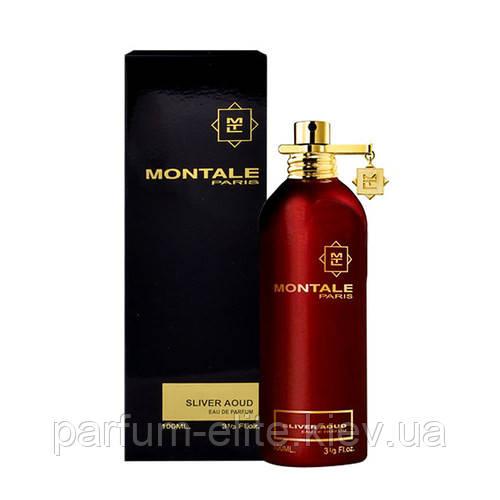 Чоловіча парфумована вода Montale Sliver Aoud 100ml