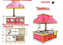 Кухонные центры вклассическом стиле Restart