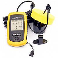 Портативный проводной сонар (эхолот, рыболокатор) FF-100 wired для поиска рыбы
