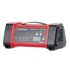 Зарядное устройство 12/24В, 2/6/10А, 2/6A, 230В, дисплей INTERTOOL AT-3019, фото 3