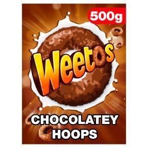 Weetabix Weetos шоколадных обручи 500г