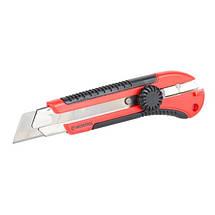 Нож с металлической направляющей 25 мм INTERTOOL HT-0526, фото 3