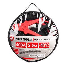 Пусковые провода 400А, 2.5м, до -40°C, чехол INTERTOOL AT-3043, фото 3