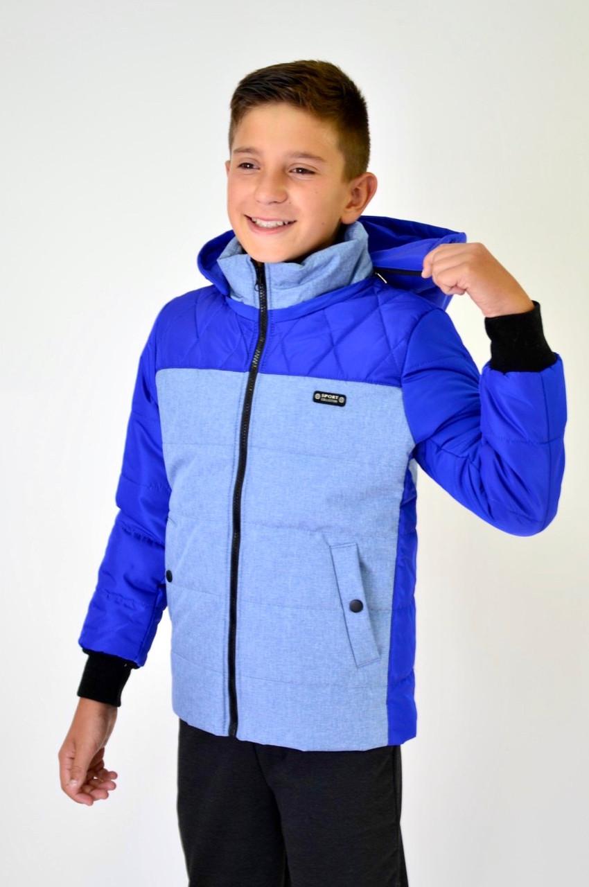 """Куртка для хлопчика підлітковий демісезонна """"ФІЛ"""" р. 128-134-140"""