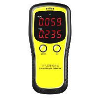 Измеритель качества воздуха, TVOC, HCHO портативный с LED дисплеем SENSOR AIR-Q2