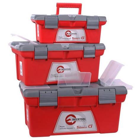 Комплект ящиков для инструментов INTERTOOL BX-0403, фото 2