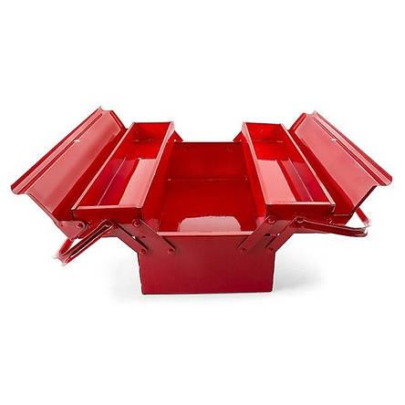 Ящик для инструментов металлический INTERTOOL HT-5043, фото 2
