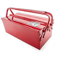 Ящик для инструментов металлический INTERTOOL HT-5043, фото 3
