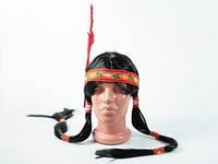 Парик Волосы индейца для вечеринки