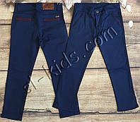 Яркие штаны для мальчика 12-16 лет (синие01) розн пр.Турция