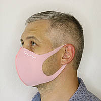 Многоразовая защитная маска ÜLKA светло-розовая