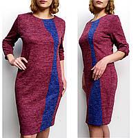 Платье женское большого размера из ангоры софт(54,58,60) батальное