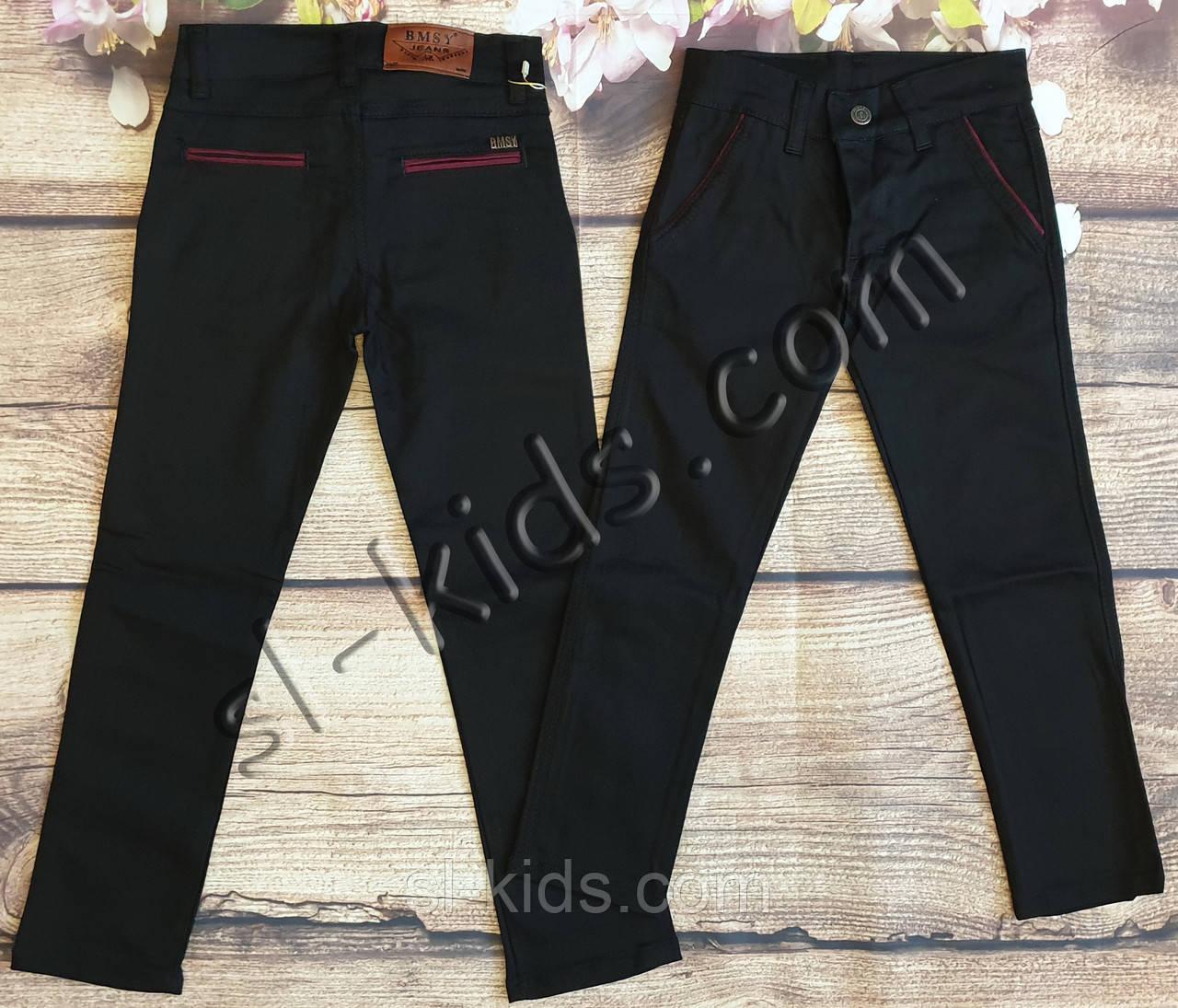 Яркие штаны для мальчика 12-16 лет (черные01) опт пр.Турция