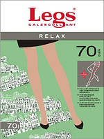 Женские колготки моделирующие Legs Relax 70 Den с распределением давления по всей ноге