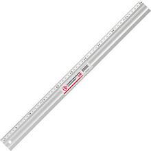 Линейка строительная алюминиевая 500мм. INTERTOOL MT-2004