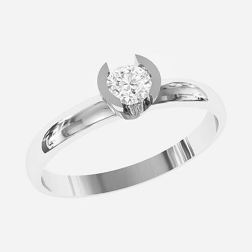 Кольцо женское серебряное Elegant КБ-1799