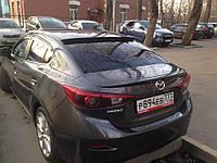 Спойлер для Mazda 3 BM (2013+) седан, Мазда БМ