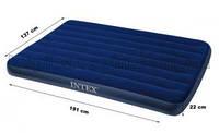 Надувной матрас двуспальный Intex 68758 (137 х 191 см.)