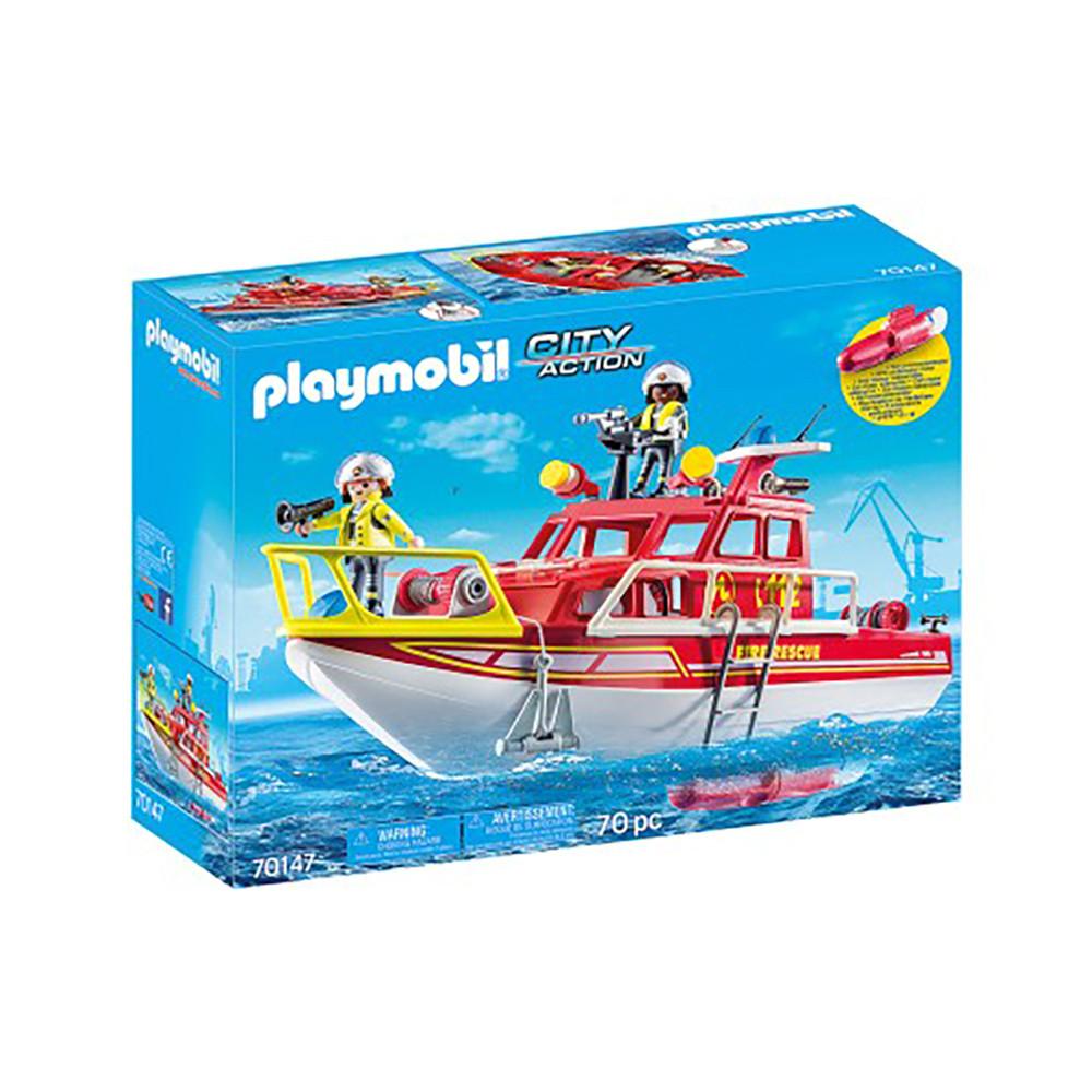"""Ігровий набір """"Катер рятувальників"""" Playmobil (4008789701473)"""