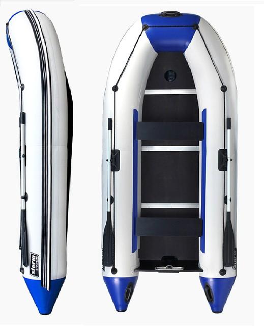Новинка! Моторная лодка для четырех человек Storm  Stk 330E