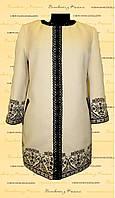 Пальто з вишивкою ПЛ 03