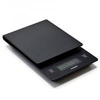 Весы для кофе с таймером профессиональные Hario V60, VST-2000HSV