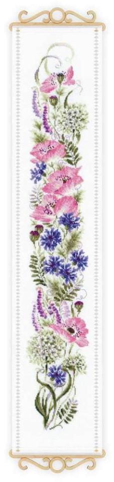 Набор для вышивки крестом Риолис 1866 «Цветочное ассорти»