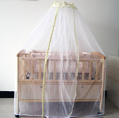 Балдахин на детскую кроватку фатин 3 м
