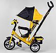 Детский3-хколёсный велосипед Best Trike 6588-21-909 с музыкальной панелью, фарами, колеса пена, фото 3