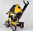 Детский3-хколёсный велосипед Best Trike 6588-21-909 с музыкальной панелью, фарами, колеса пена, фото 4
