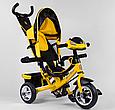 Детский3-хколёсный велосипед Best Trike 6588-21-909 с музыкальной панелью, фарами, колеса пена, фото 2