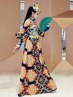 Жіноче етнічне монгольське плаття