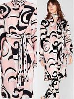 Платье - рубашка с поясом в цвет Ouli Puqi, фото 1