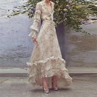Сукня з принтом Yujie Спідниця-дзвоник