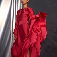 Плаття довге до щиколотки Червоне