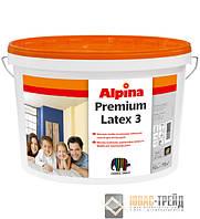 Alpina Premiumlatex 3 (Альпина Премиумлатекс 3)E.L.F. Матовая, стойкая латексная краска, 18л