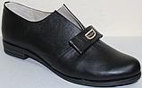 Туфли женские кожаные большого размера от производителя модель ВБ1212, фото 2