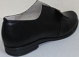 Туфли женские кожаные большого размера от производителя модель ВБ1212, фото 4