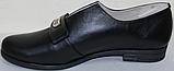 Туфли женские кожаные большого размера от производителя модель ВБ1212, фото 3