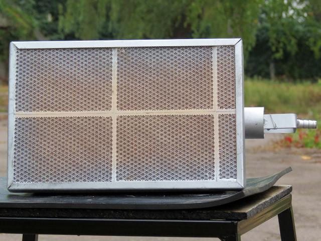 Пропановый керамический обогреватель (7,3 кВт, на 70 м. кв)
