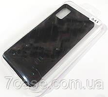 Чехол для Samsung Galaxy A41 A415F матовый Silicone Case Full Cover Macarons Color
