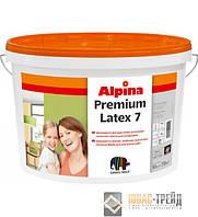 Alpina Premiumlatex 7(Альпина Премиумлатекс 7) Шелковисто-матовая латексная краска, 10 л