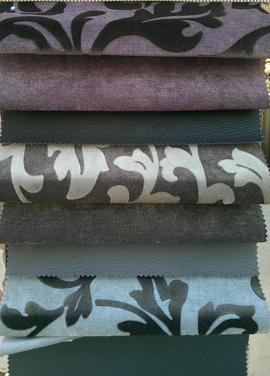 Мебельная ткань микровельвет NIMFA с подборкой ENERGY