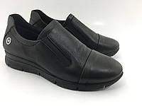 Мягкие турецкие женские туфли , широкие