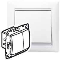 Механизм кнопочного светорегулятора 40-400 Вт, Valena белый, 770062