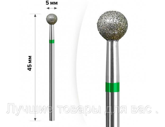 Алмазная насадка  М- 034 Шарик Green 5мм