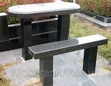Столи і лавки з каменю